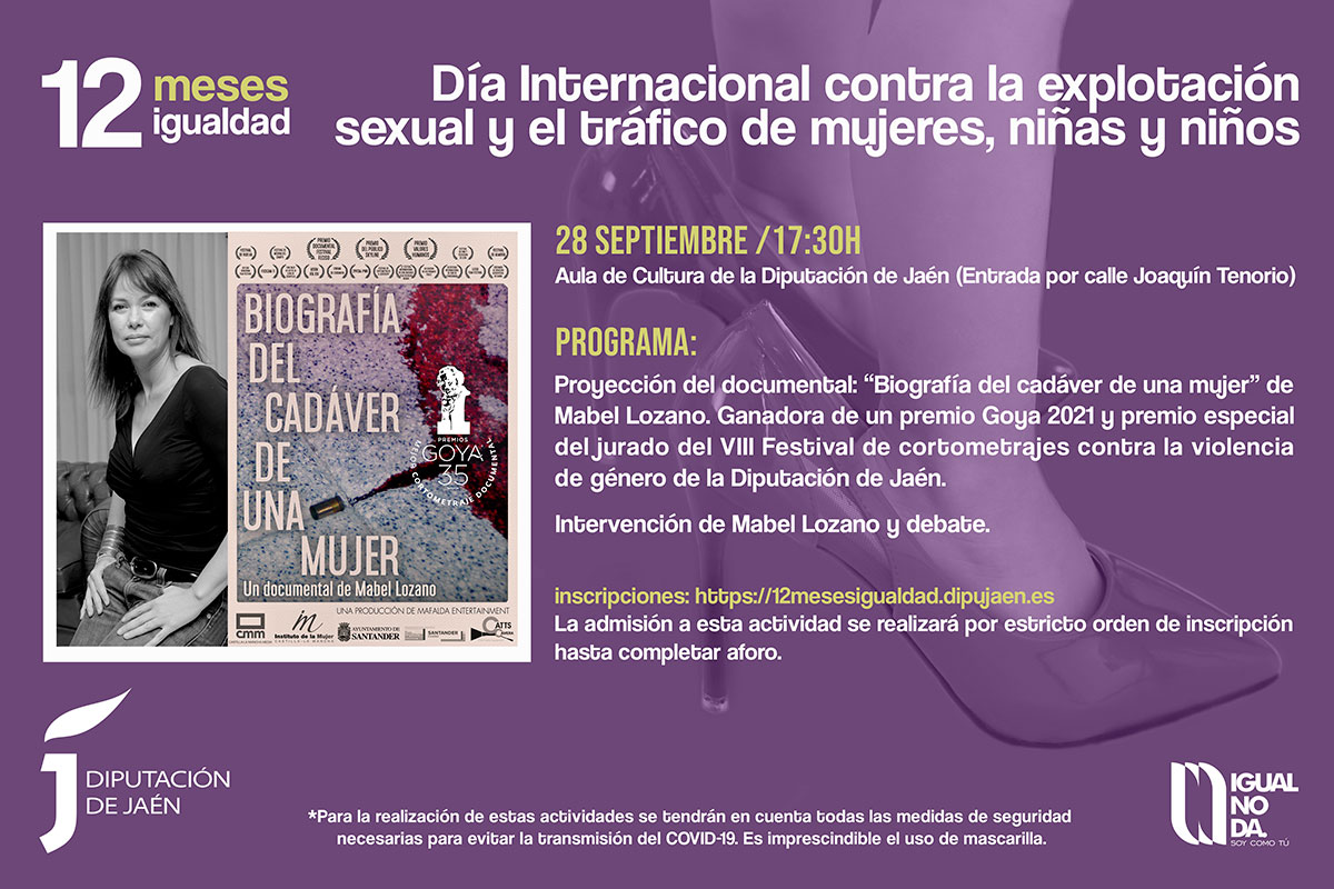 Diputación de Jaén - 12 meses igualdad Programa 28 mayo